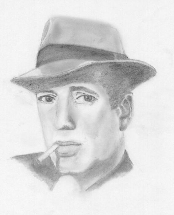 Humphrey Bogart by JimmyE